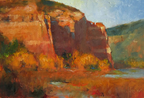Paint the Southwest Plein Air Painting Workshops and Retreats with Michael Chesley Johnson